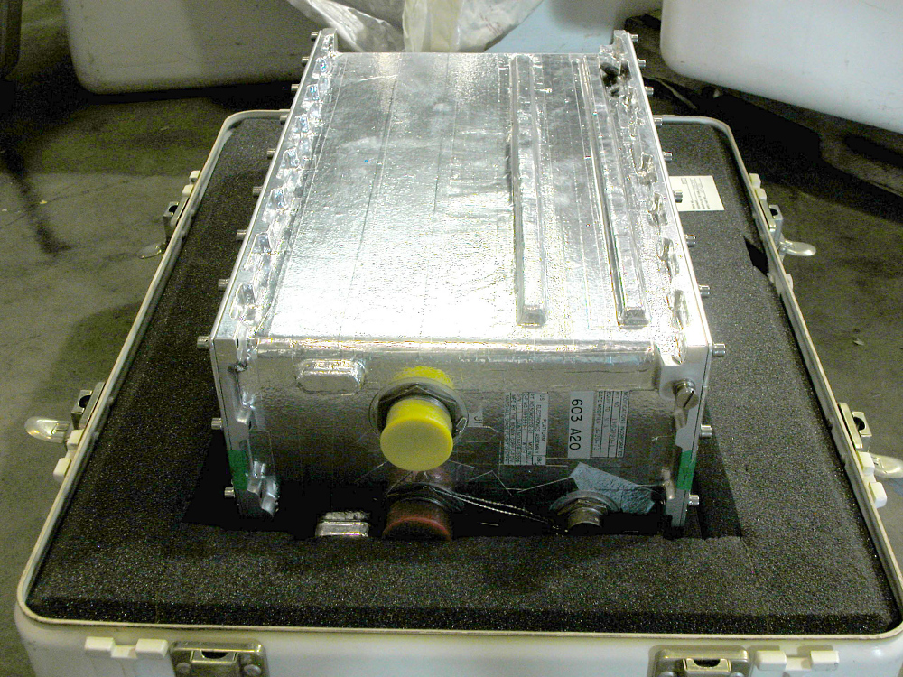 Platform Electronics Assembly, Stable Platform, ST-124, Saturn V