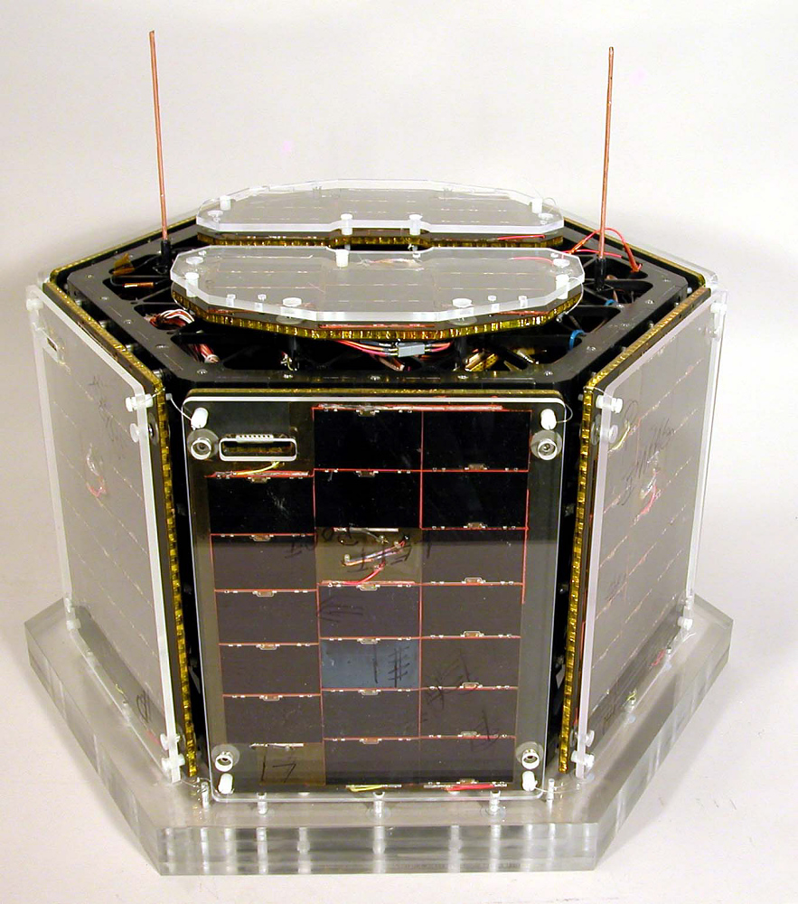 "Nanosatellite, ""Petey"",Nanosatellite, ""Petey"""