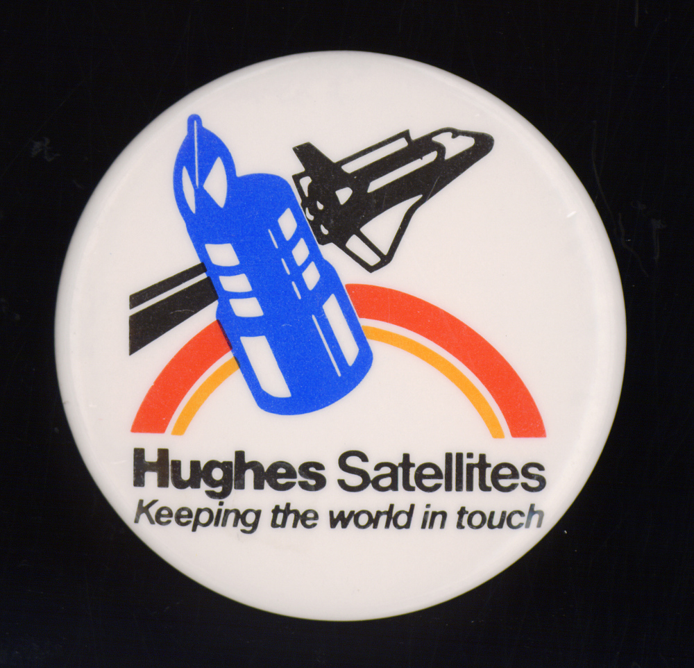 Button, Hughes Satellites,Button, Hughes Satellites