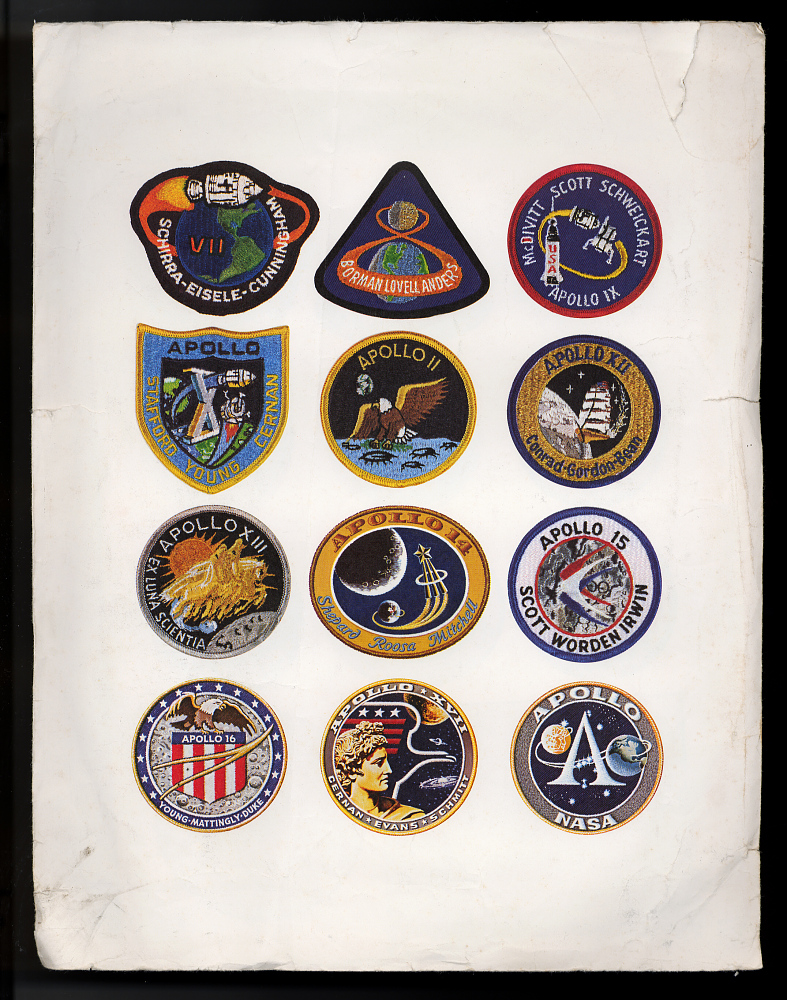 Sticker Set, Apollo Missions,Sticker Set, Apollo Missions