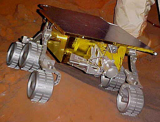 Mars Pathfinder Mini-Rover, Full-Scale Model