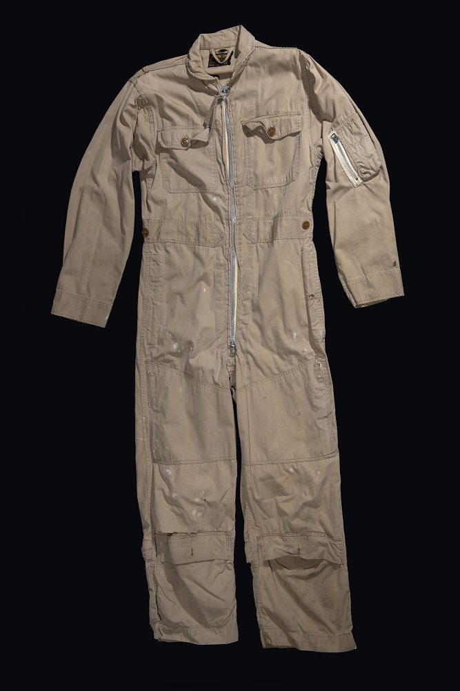Suit, Flying, United States Navy, William Ecker