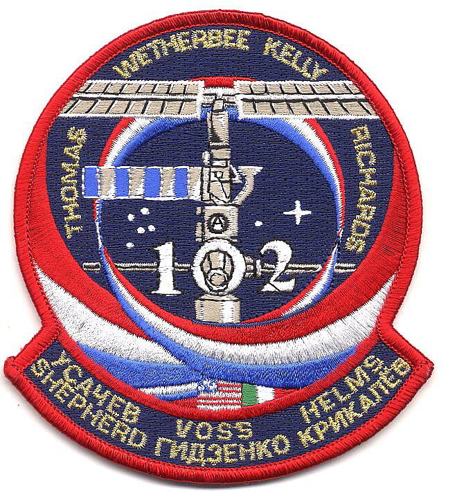 Patch, Mission, STS-102