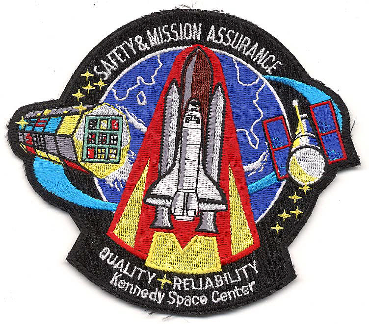 Patch, Safety and Mission Assurance, Kennedy Space Center,Patch, Safety and Mission Assurance, Kennedy Space Center