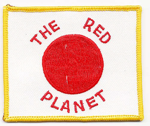 Patch, The Red Planet,Patch, The Red Planet