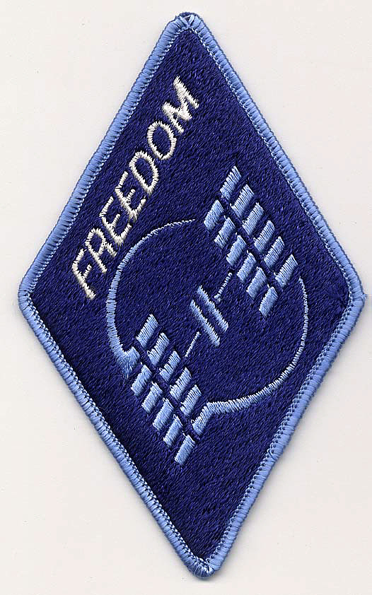 Patch, Program, Space Station Freedom,Patch, Program, Space Station Freedom