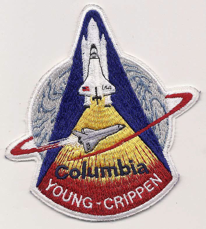 Patch, Mission, STS-1,Patch, Mission, STS-1