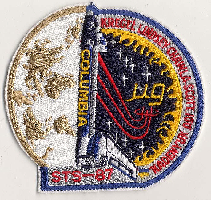 Patch, Mission, STS-87,Patch, Mission, STS-87