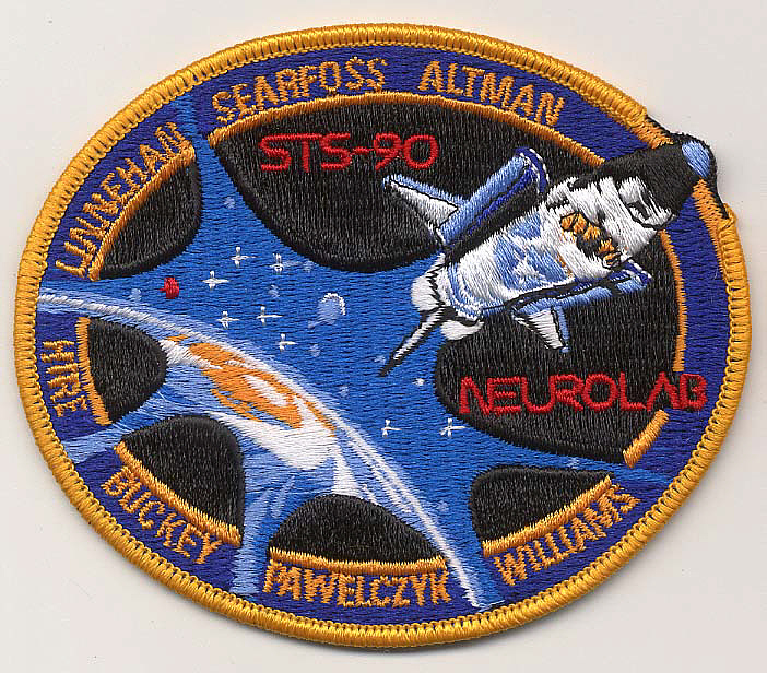 Patch, Mission, STS-90,Patch, Mission, STS-90