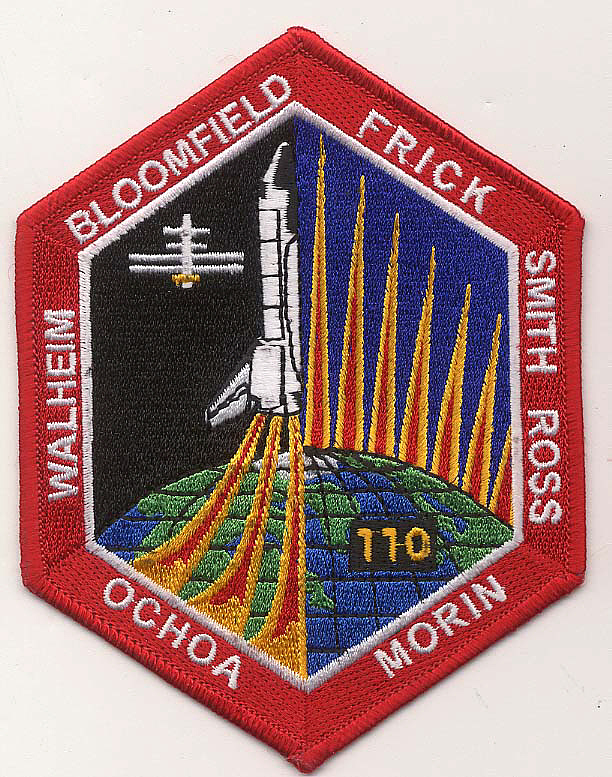 Patch, Mission, STS-110,Patch, Mission, STS-110
