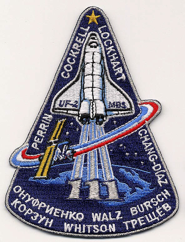 Patch, Mission, STS-111,Patch, Mission, STS-111