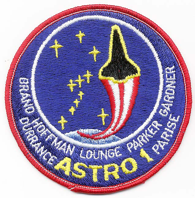 Patch, Mission, STS-35,Patch, Mission, STS-35