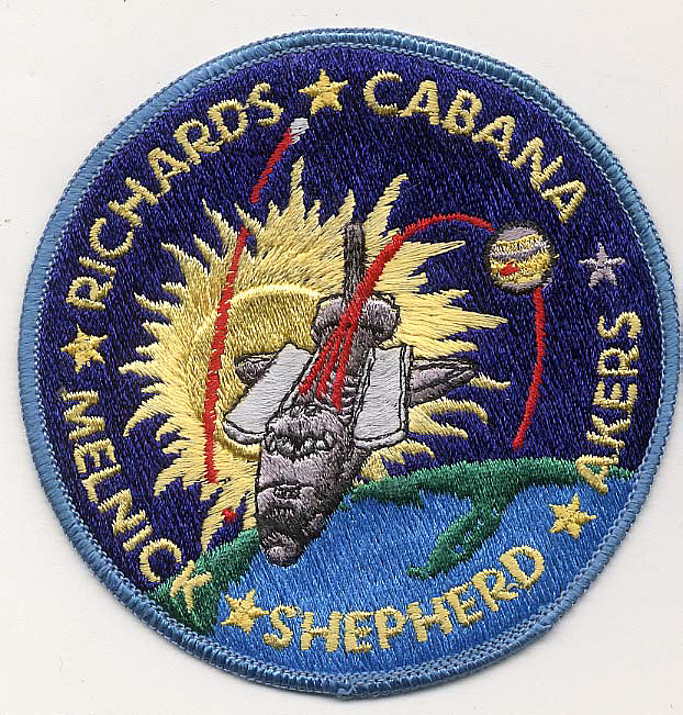 Patch, Mission, STS-41