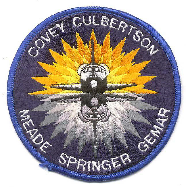 Patch, Mission, STS-38