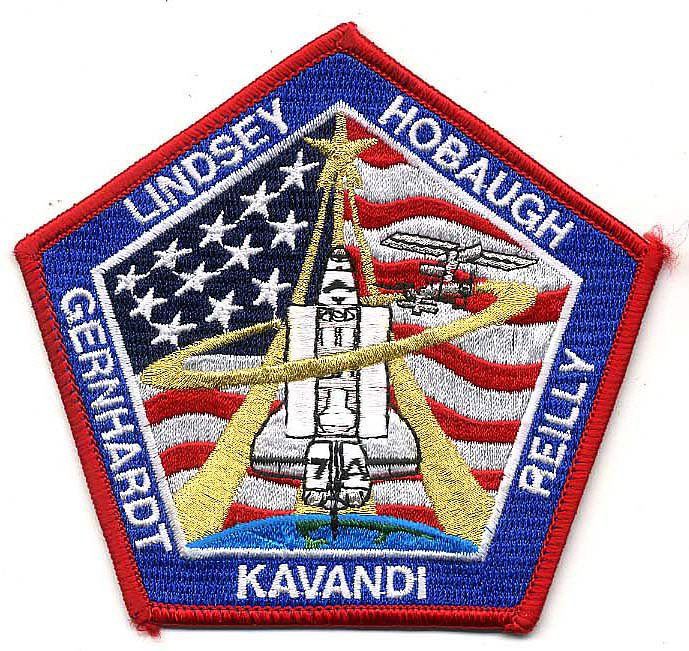 Patch, Mission, STS-104,Patch, Mission, STS-104