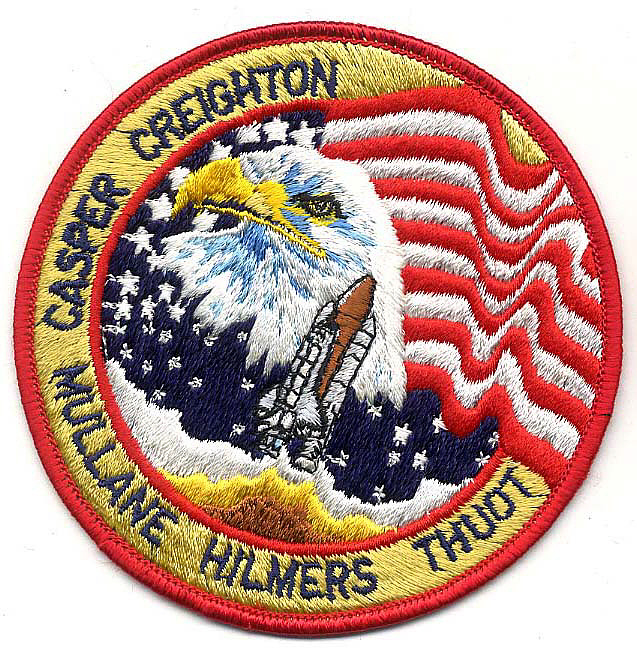 Patch, Mission, STS-36,Patch, Mission, STS-36