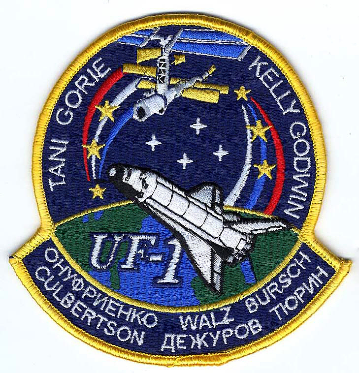 Patch, Mission, STS-108,Patch, Mission, STS-108