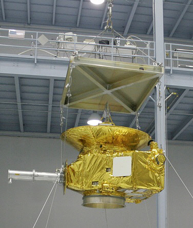 Spacecraft, New Horizons, Mock-up,Spacecraft, New Horizons, Mock-up