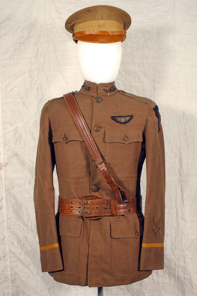 Coat, Service, United States Army Air Service, Kenneth Grubb,Coat, Service, United States Army Air Service, Kenneth Grubb