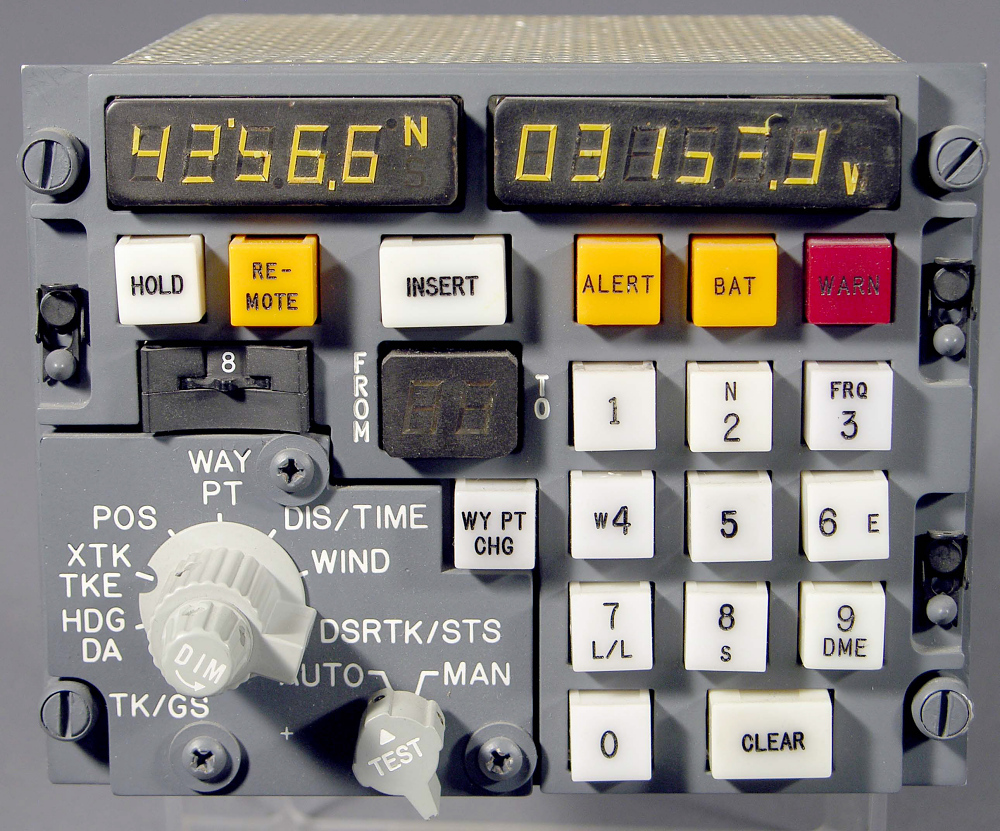 Carousel Control Display Unit, Commercial Airline