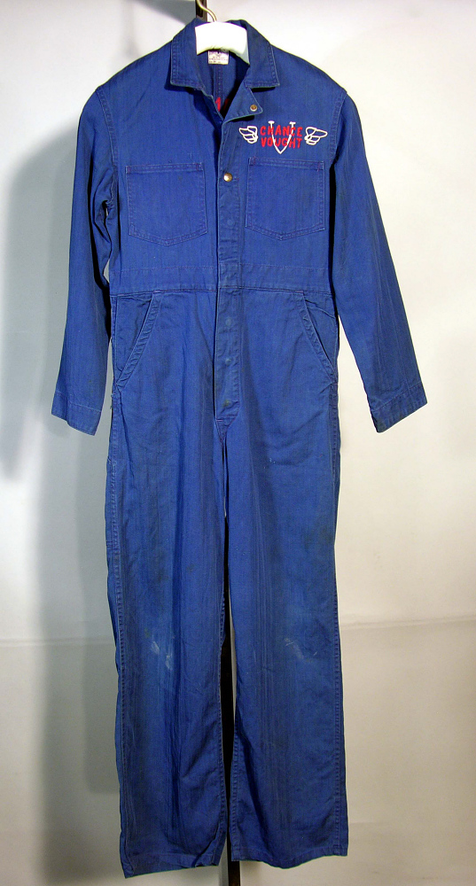 Coveralls, Worker, Chance Vought Aircraft,Coveralls, Worker, Chance Vought Aircraft