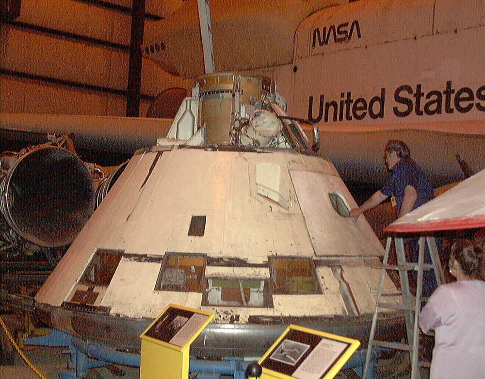 Command Module, Apollo, #011A, AS-202
