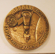 Medal, Apollo-Soyuz Test Project