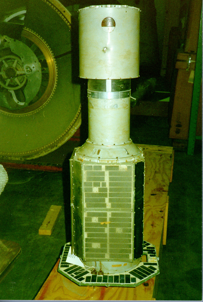 Satellite, Explorer 11, Test Unit