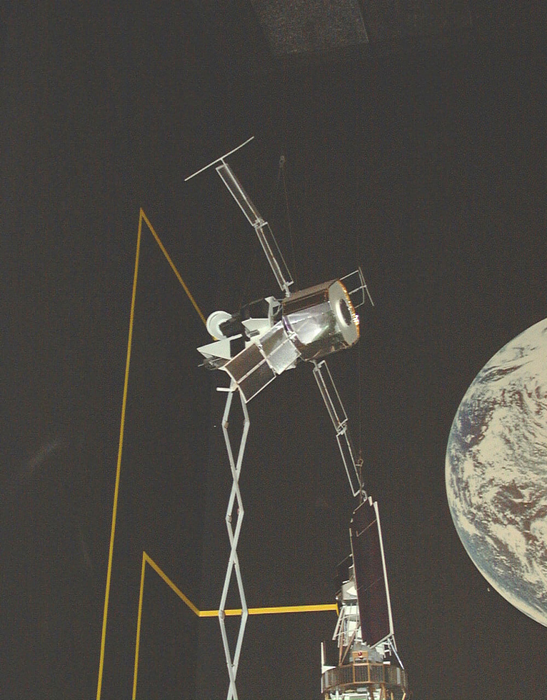 Model, Satellite, Magsat, 1:2