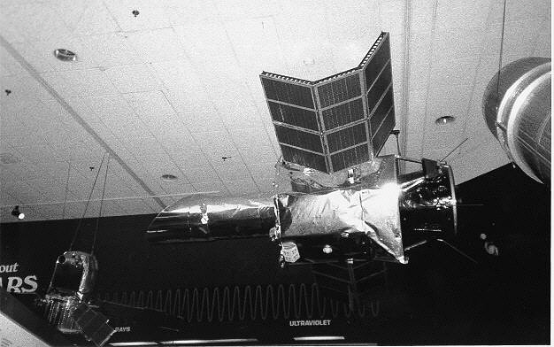 Satellite, International Ultraviolet Explorer (IUE), Engineering mock up