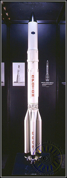 Model, Rocket, Launch Vehicle, Proton