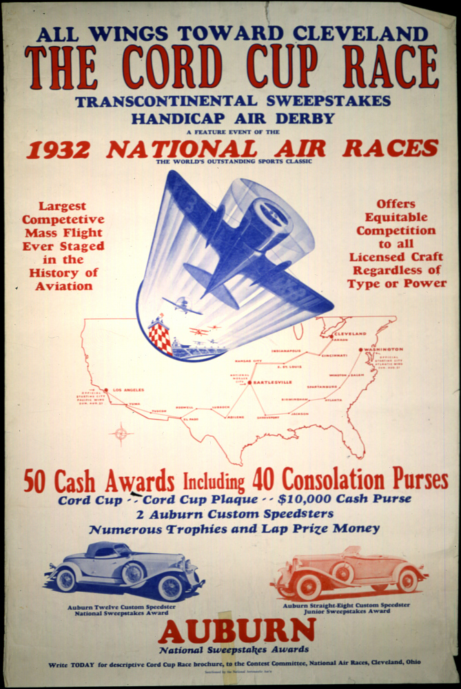 The Cord Cup Race Transcontinental Sweepstakes Handicap Air Derby