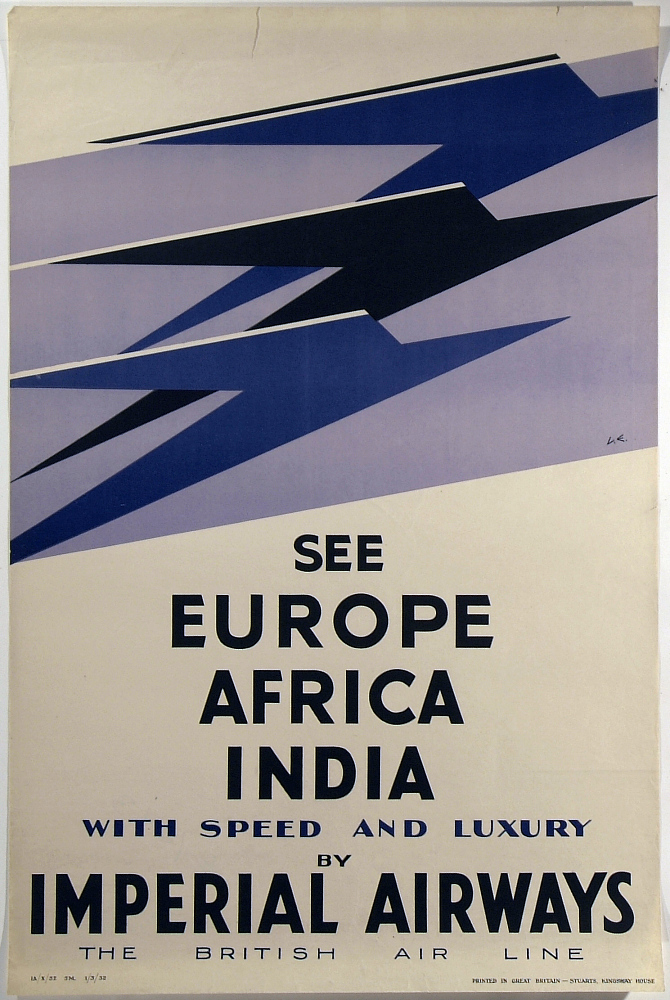 Imperial Airways See Europe Africa India With Speed and Luxury