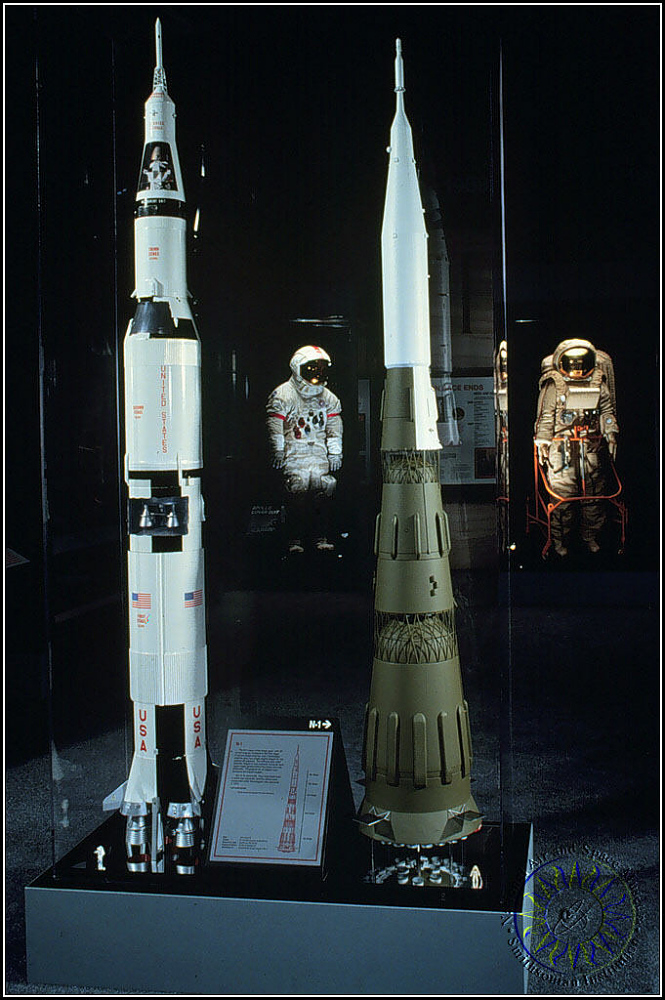 Model, Rocket, Launch Vehicle, Soviet Lunar, N-1: 1/48,Model, Rocket, Launch Vehicle, Soviet Lunar, N-1: 1/48