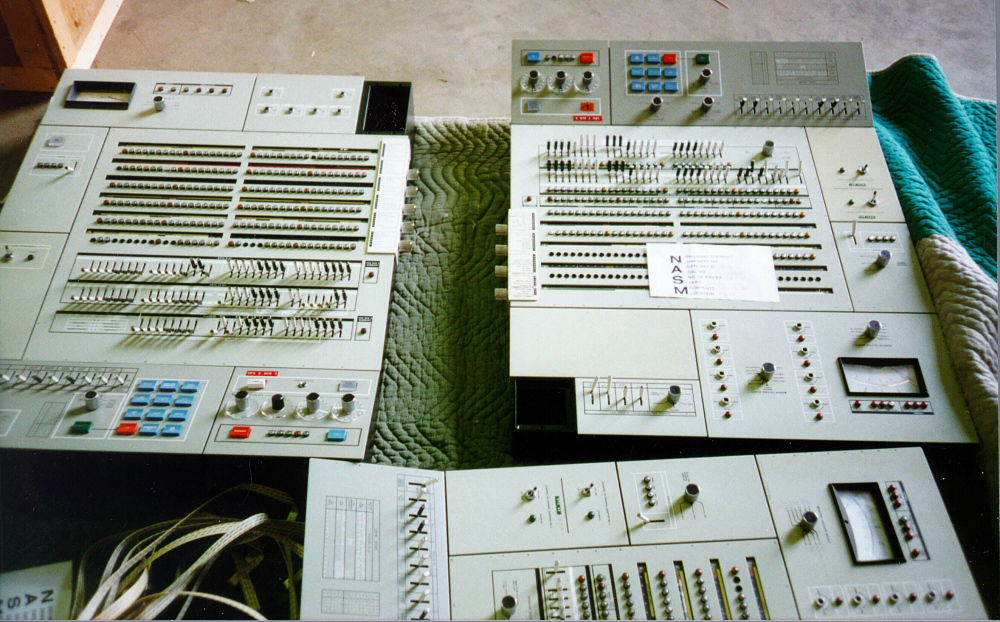 Control Panel, Air Traffic Control Computer, IBM 9020,Control Panel, Air Traffic Control Computer, IBM 9020