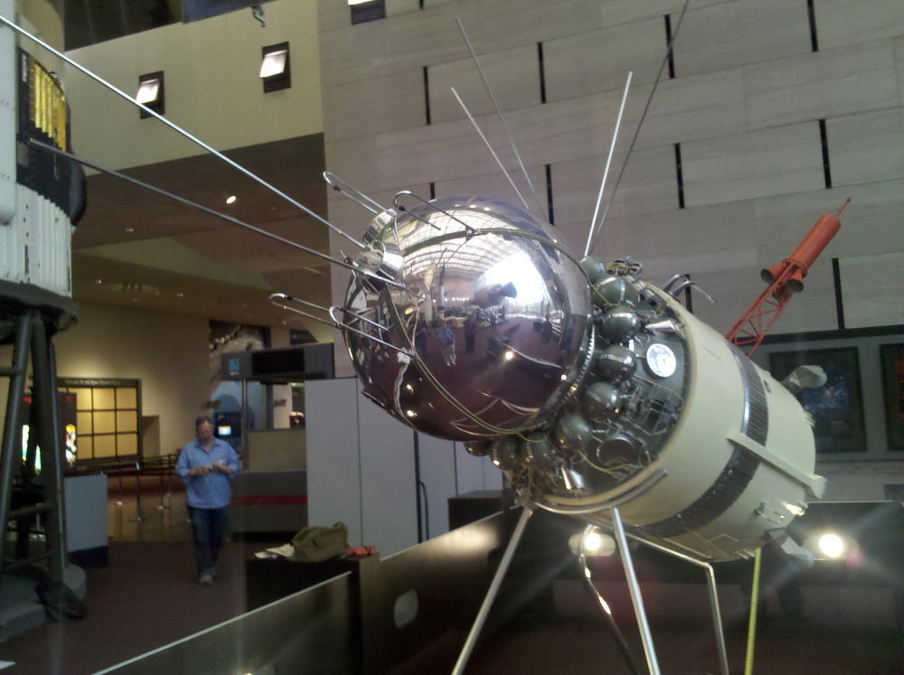 Vostok 3KA, Model, 1:3 scale,Vostok 3KA, Model, 1:3 scale