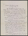 View Edward Weston letter to Charles Sheeler and family digital asset number 2
