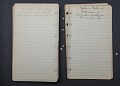 View Lorenzo Dow Turner appointment book digital asset number 6