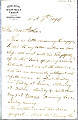 View Charles Lang Freer's letters to Frank Hecker during foreign travels, 1894-1895 digital asset number 5