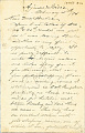 View Charles Lang Freer's letters to Frank Hecker during foreign travels, 1894-1895 digital asset number 9