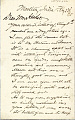 View Charles Lang Freer's letters to Frank Hecker during foreign travels, 1894-1895 digital asset number 2
