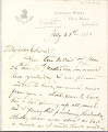 View Charles Lang Freer's letters to Frank Hecker during foreign travels, 1899-1903 digital asset number 9