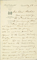 View Charles Lang Freer's letters to Frank Hecker during foreign travels, 1904-1908 digital asset number 9