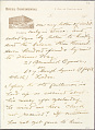 View Charles Lang Freer's letters to Frank Hecker during foreign travels, 1904-1908 digital asset number 8