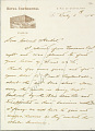 View Charles Lang Freer's letters to Frank Hecker during foreign travels, 1904-1908 digital asset number 7