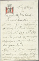 View Charles Lang Freer's letters to Frank Hecker during foreign travels, 1904-1908 digital asset number 5
