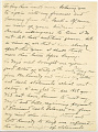 View Charles Lang Freer's letters to Frank Hecker during foreign travels, 1909 digital asset number 2