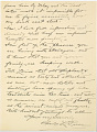 View Charles Lang Freer's letters to Frank Hecker during foreign travels, 1909 digital asset number 9