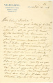 View Charles Lang Freer's letters to Frank Hecker during foreign travels, 1909 digital asset number 8