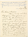 View Charles Lang Freer's letters to Frank Hecker during foreign travels, 1910-1911 digital asset number 5